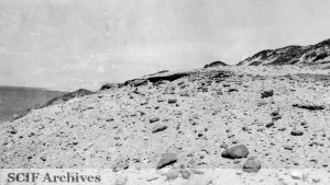 Site Of Juana Maria S Hut San Nicolas Island Photographed From East Photograph By Arthur Woodward C 1938 1939