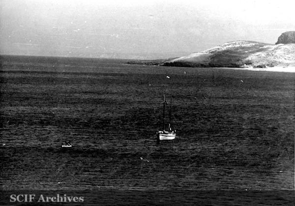 """File:12 B. Hughey Sept. 1950 cruise ketch """"Gaylady"""".jpg"""