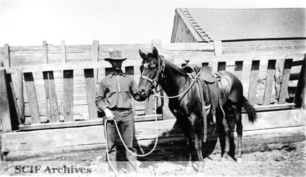 File:SRI Bill Neeman in front of barn c. 1940s.jpg