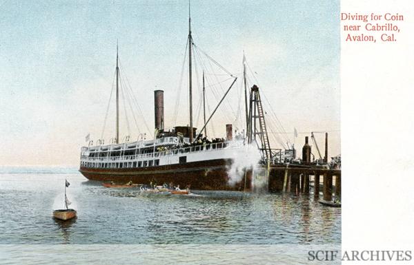File:Postcard Diving for Coin Avalon.jpg