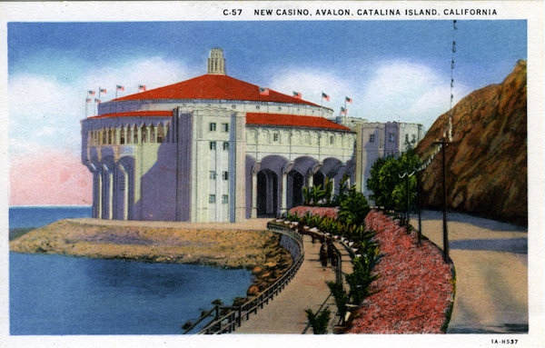 File:C-57 New casino, Avalon, Catalina - white borders.jpg