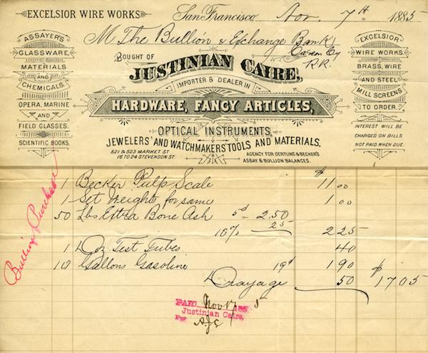 File:Justinien Caire Nov. 7th 1885 invoice.jpg