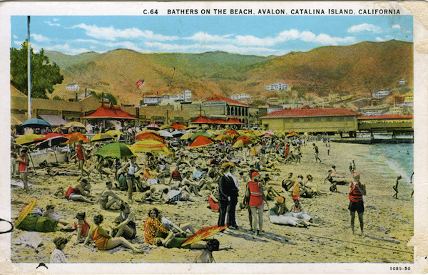 File:C series C.64 bathers on the beach, avalon, white border 004.jpg