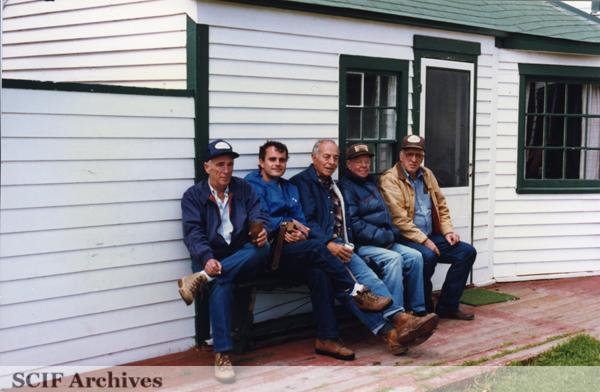 File:SRI Main Ranch House, SRI Russ Vail, John Gherini, Pier Gherini, Carey Stanton & Al Vail 1987 3 .jpg