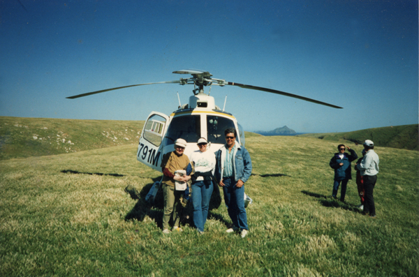 File:Marla & Friends in front of copter.jpg