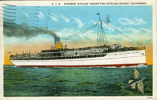 """File:C.I 4 Steamer """"Avalon"""" bound for Cat Island .jpg"""